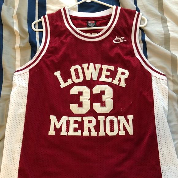 Kobe Bryant Lower Merion high school jersey